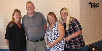 A Big Welcome Jo, Hayley, Becky and Paul